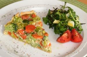Bunte Gemüse-Quiche